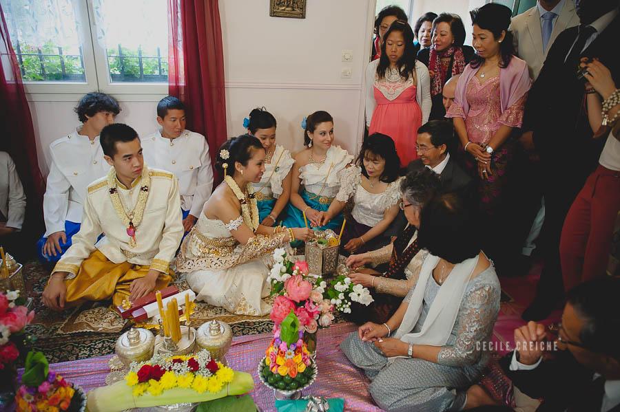Voici donc les images du mariage traditionnel cambodgien de Roselyne ...