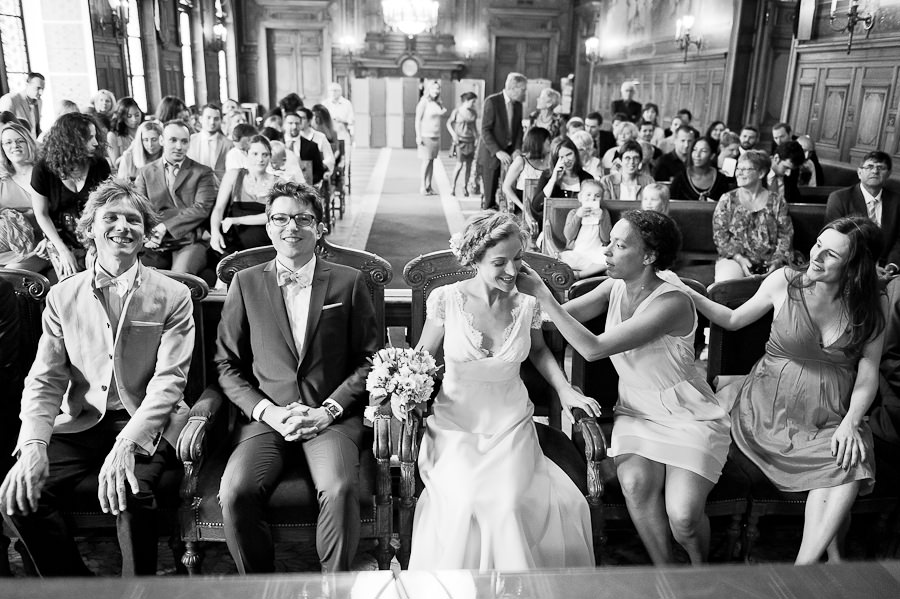 Mariage inspiration boheme-champetre-chic-Paris 14eme et Chateau de Bois le Roi Yonne-14