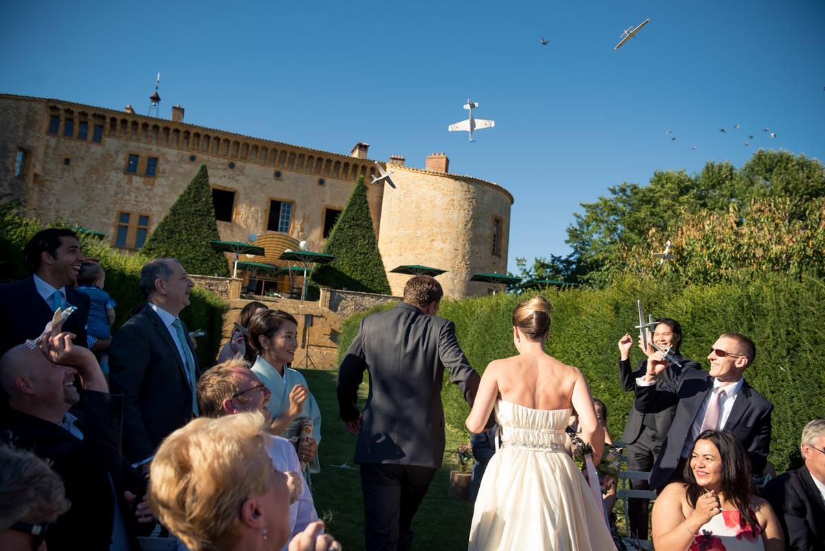 Mariage Château de Bagnols