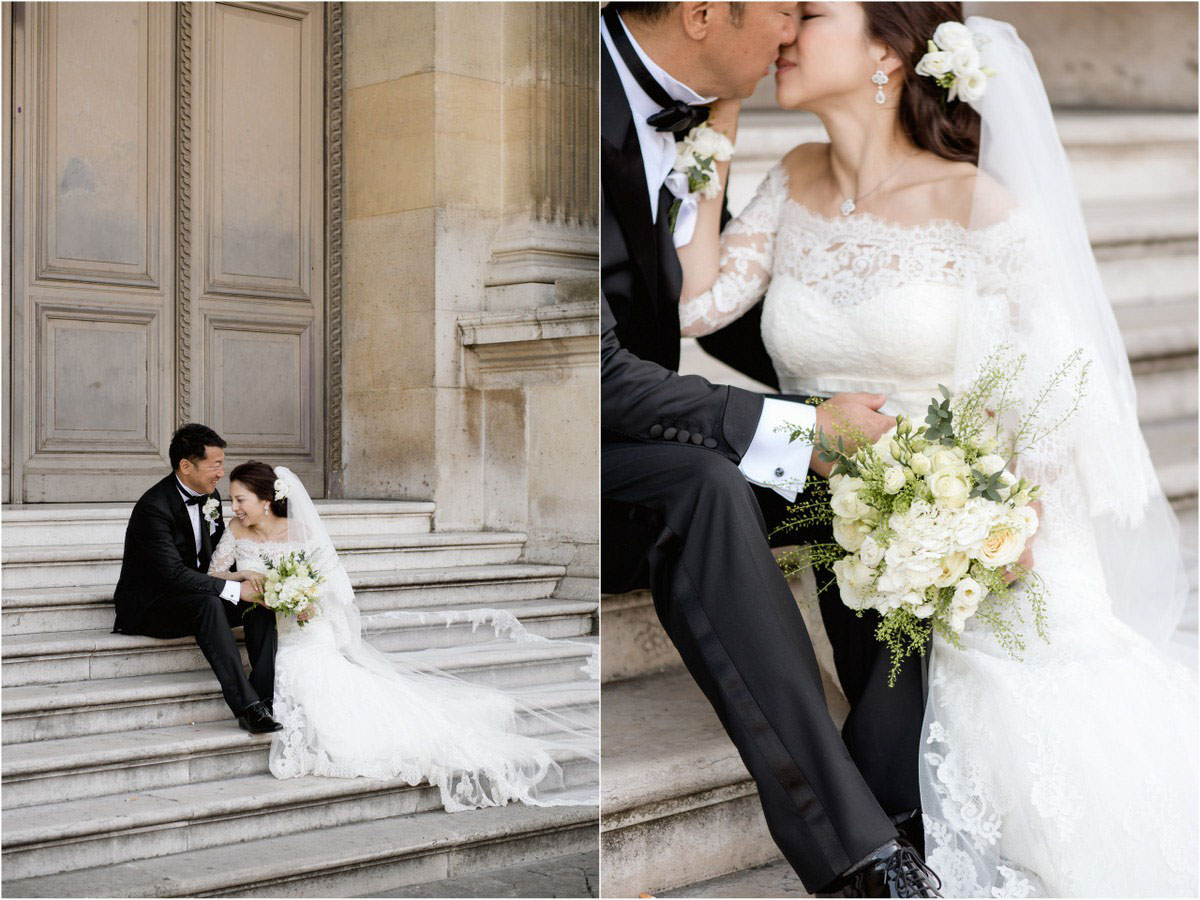 Wedding photography in Paris - Destination wedding Paris