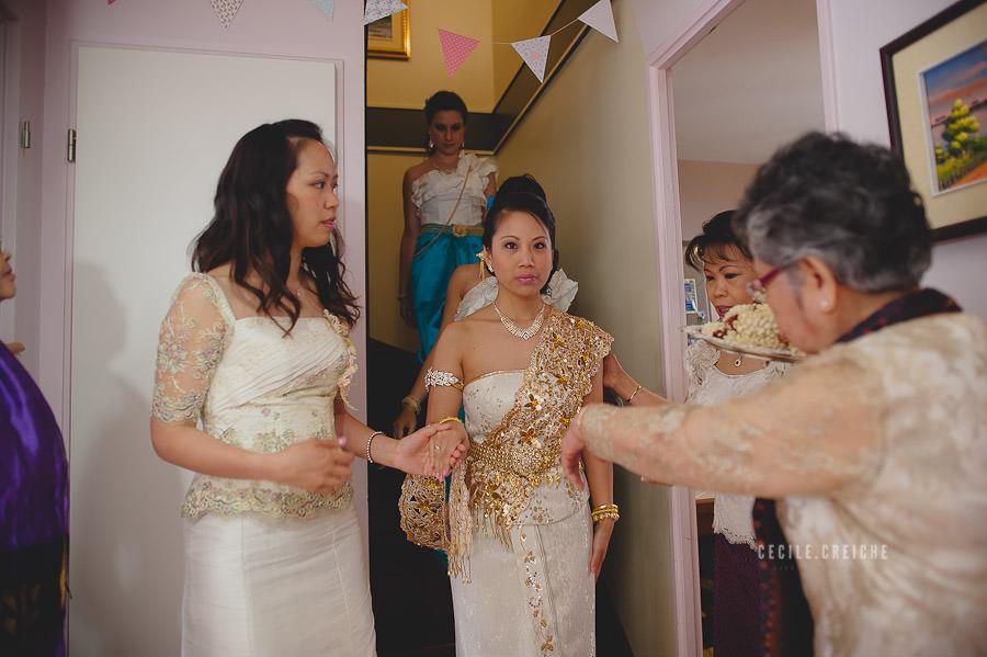 Mariage traditionnel cambodgien à Paris