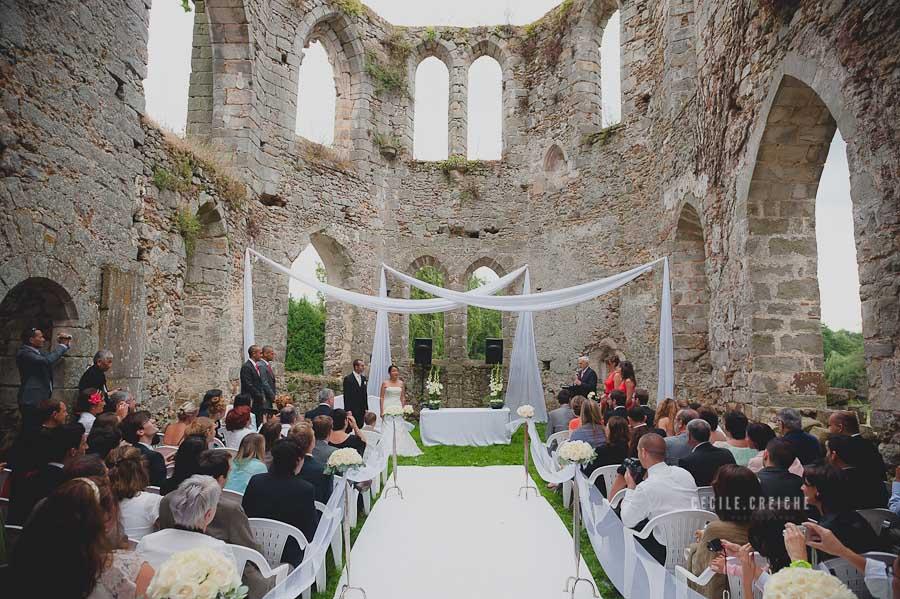 mariage au chateau du vivier