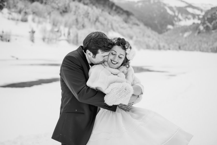 Photos de mariage Morzine - Domaine du Baron Montriond haute savoie