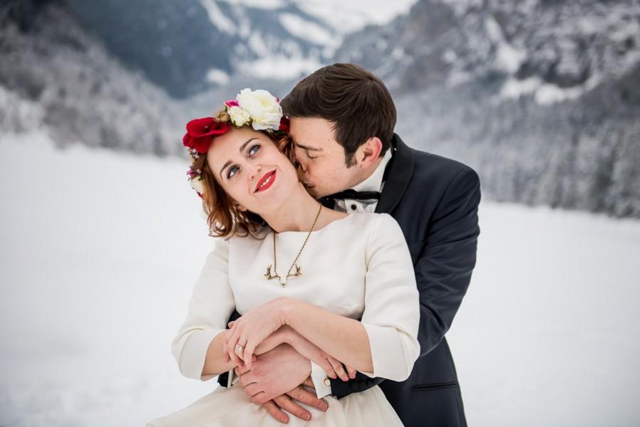 mariage à Morzine - Domaine du Baron Montriond haute savoie