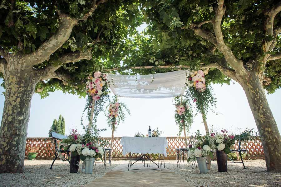 Mariage chateau de bregançon