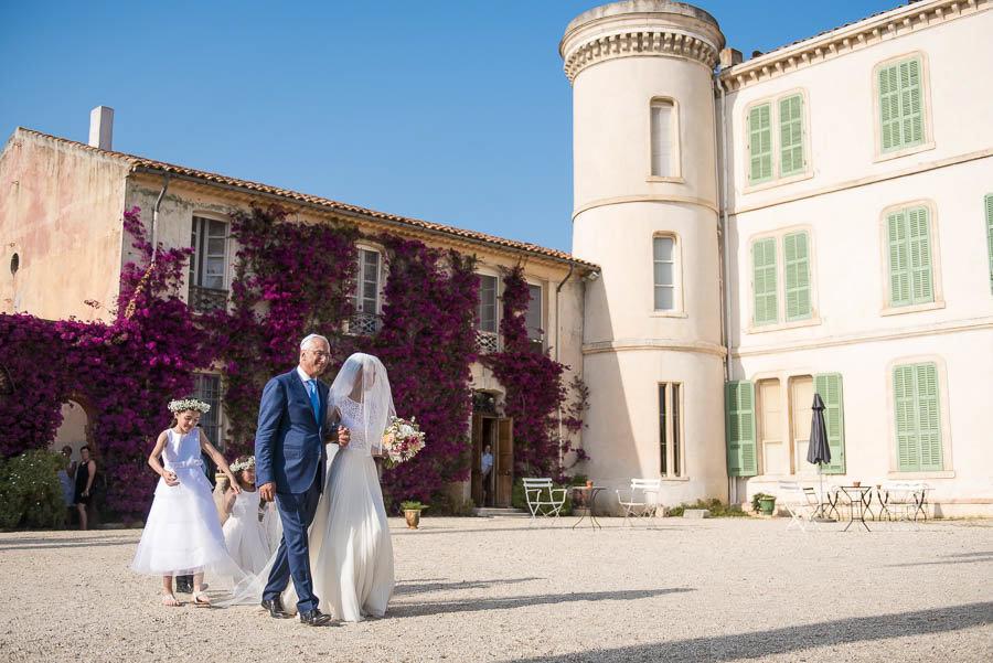 Mariage chateau de bregancon