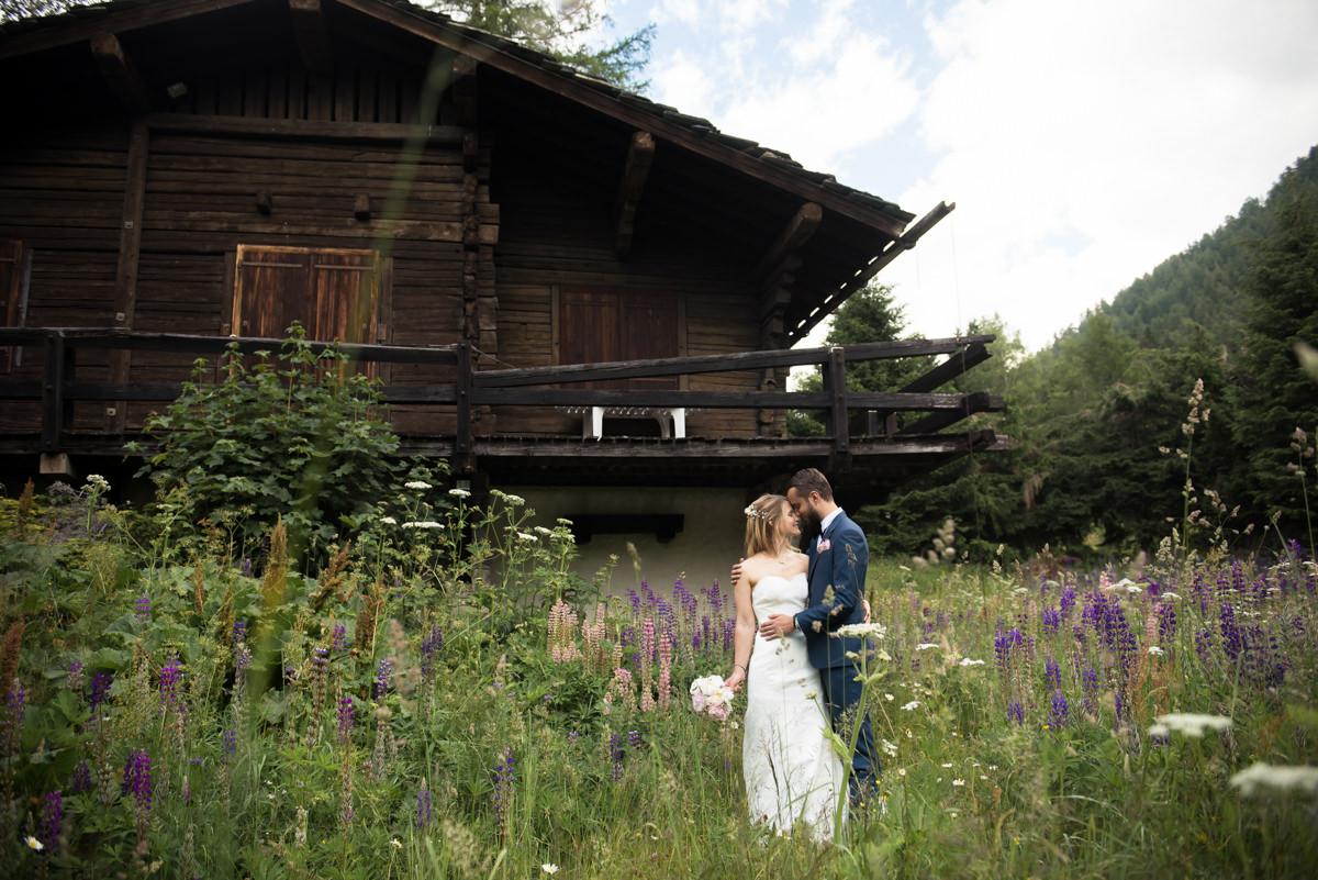 mariage à la montagne Chamonix