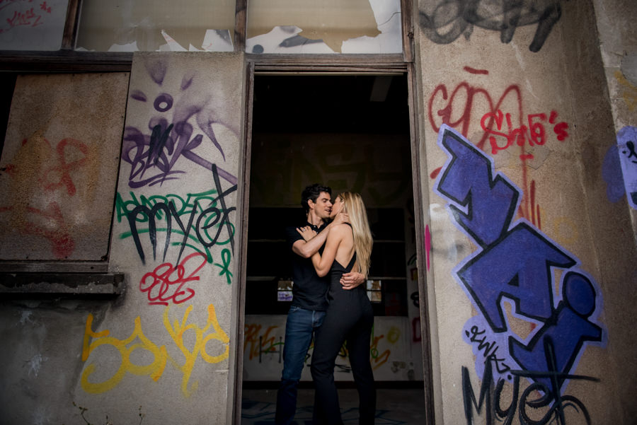 Urbex engagement shoot