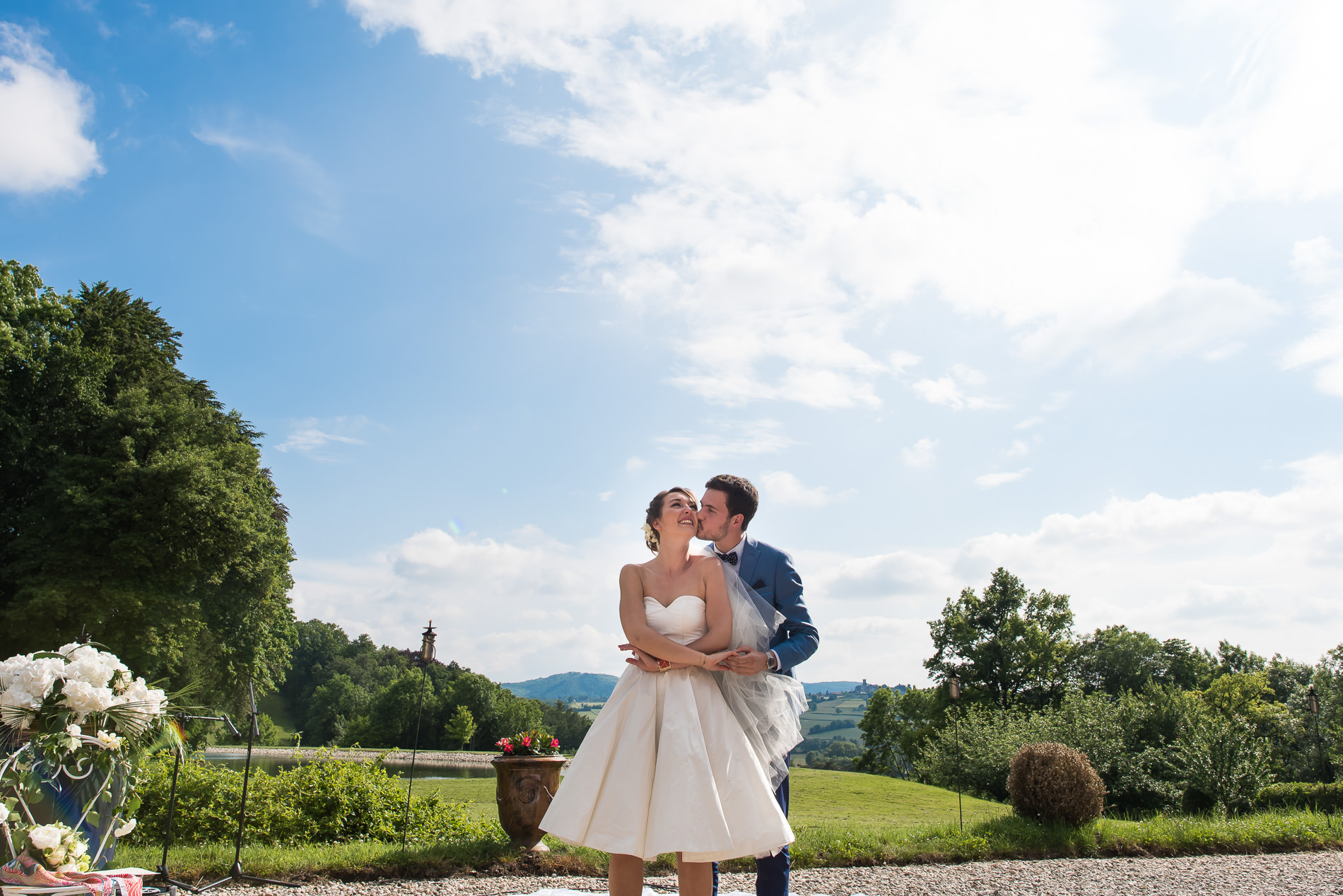 Mariage au Chateau de Pupetieres