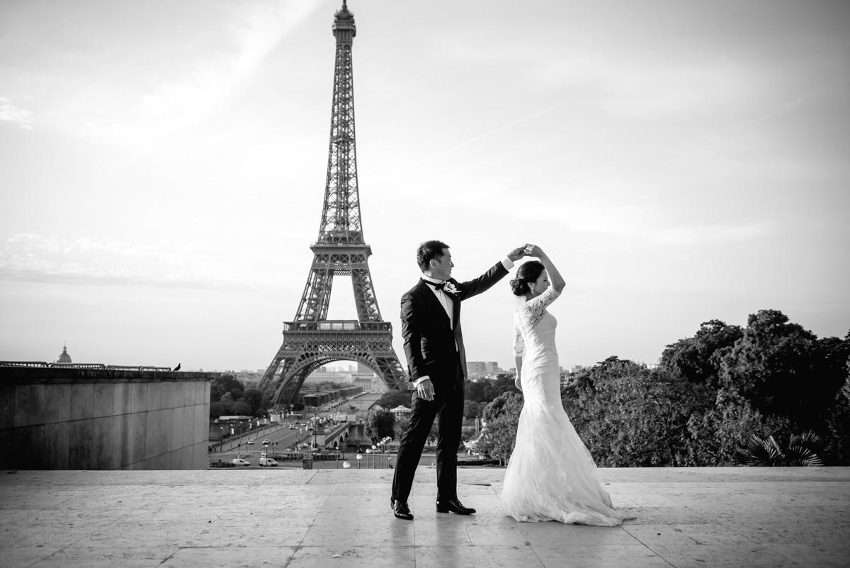Wedding Photography In Paris Destination