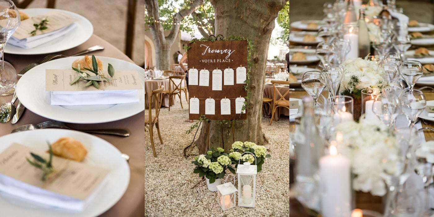 Mariage en provence mas de boutonnet massane les alpilles photographe mariage lyon c cile - Deco provencale chic ...