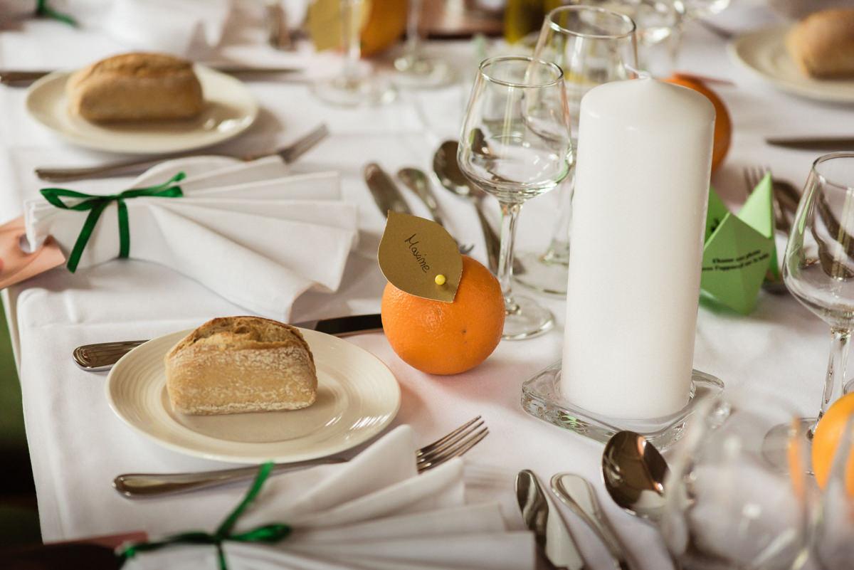 decoration table mariage originale