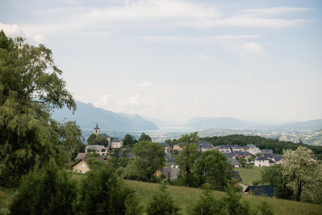 lieu de réception avec vue sur lac du Bourget
