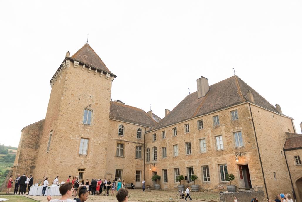 Cour principale du château
